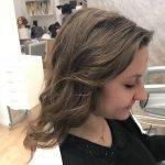 Taglio capelli per ragazza e piega