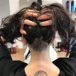 Taglio di capelli donna eccentrico